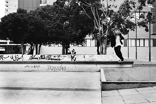 A couple from the Tweaker article. Milo (nose wheelie) and Brad (backside tailslide).